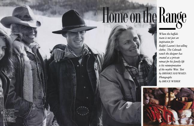 Article Preview: Home on the Range, February 1988 1988 | Vanity Fair