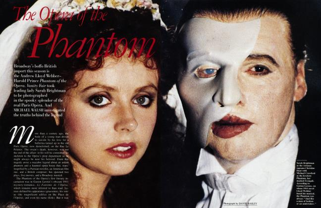 Article Preview: The Opera of the Phantom, February 1988 1988   Vanity Fair