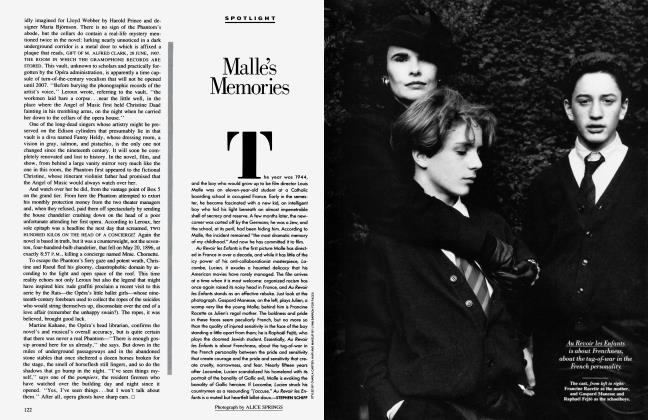 Article Preview: Malle's Memories, February 1988 1988 | Vanity Fair