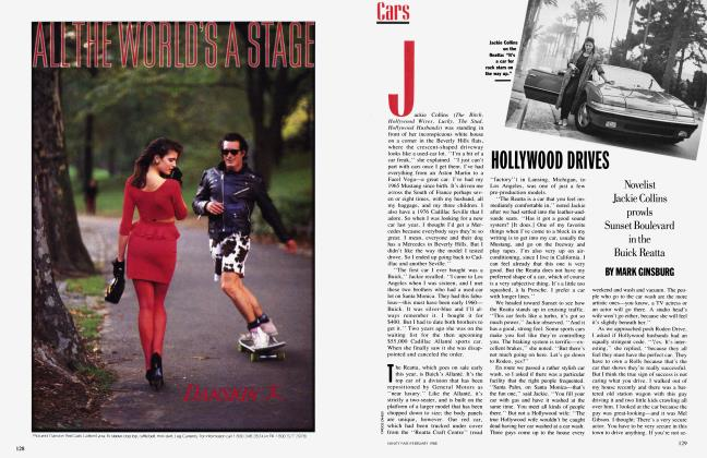 Article Preview: HOLLYWOOD DRIVES, February 1988 1988 | Vanity Fair