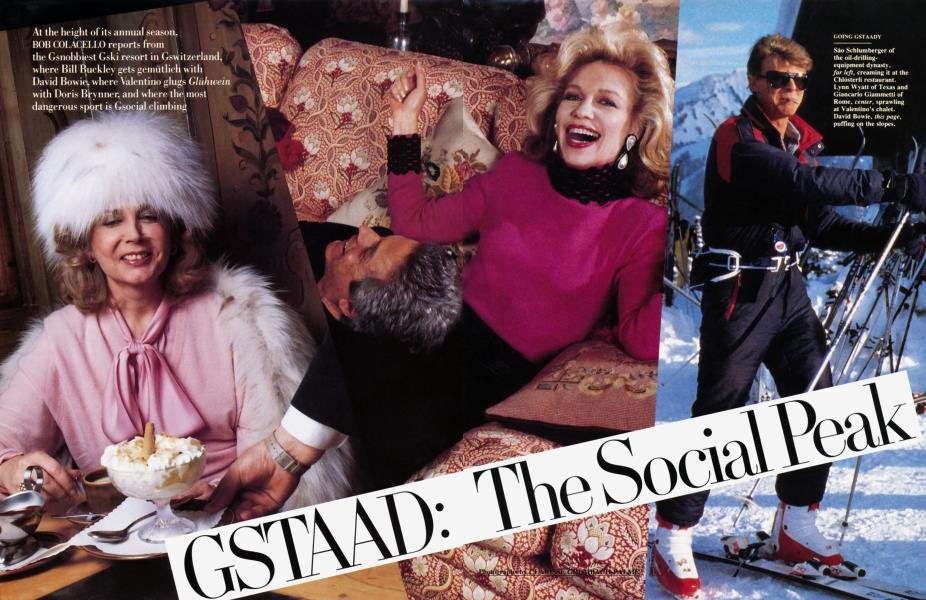 GSTAAD: The Social Peak
