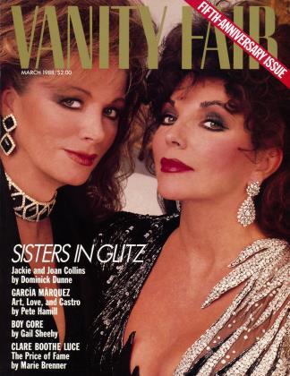 March 1988 | Vanity Fair