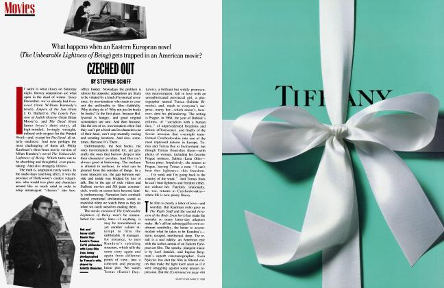Article Preview: CZECHED OUT, March 1988 1988 | Vanity Fair