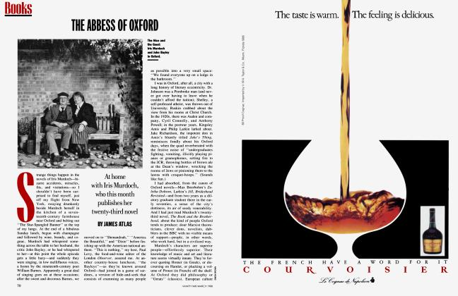 Article Preview: THE ABBESS OF OXFORD, March 1988   Vanity Fair