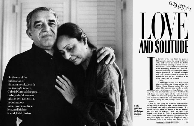Article Preview: LOVE AND SOLITUDE, March 1988 1988 | Vanity Fair