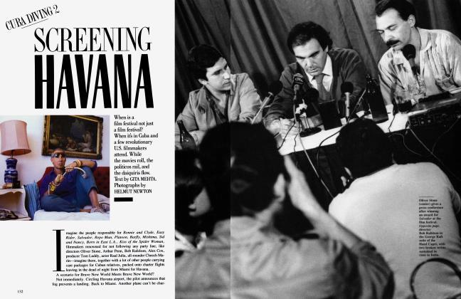 Article Preview: SCREENING HAVANA, March 1988 1988 | Vanity Fair