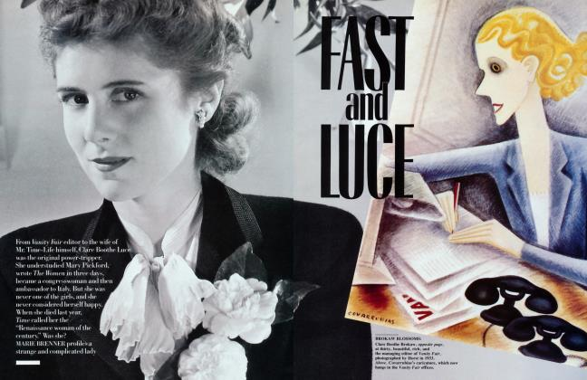 Article Preview: FAST and LUCE, March 1988 1988 | Vanity Fair