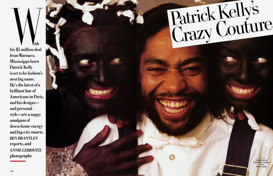 Patrick Kelly's Crazy Couture