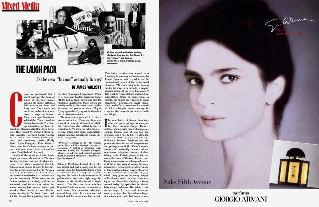Article Preview: THE LAUGH PACK, April 1988 | Vanity Fair
