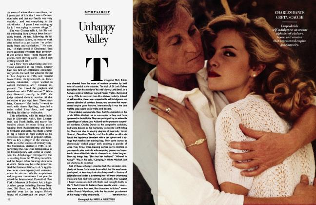 Article Preview: Unhappy Valley, April 1988 1988 | Vanity Fair