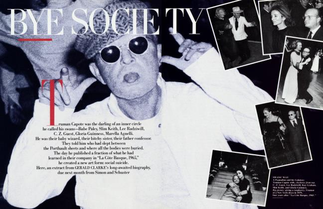 Article Preview: BYE SOCIETY, April 1988 | Vanity Fair