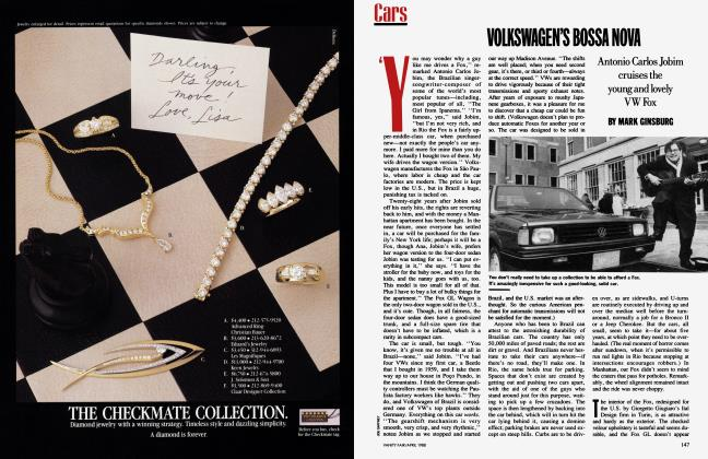 Article Preview: VOLKSWAGEN'S BOSSA NOVA, April 1988 1988 | Vanity Fair