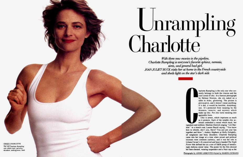 Unrampling Charlotte