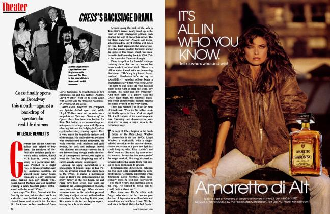 Article Preview: CHESS'S BACKSTAGE DRAMA, May 1988 1988 | Vanity Fair
