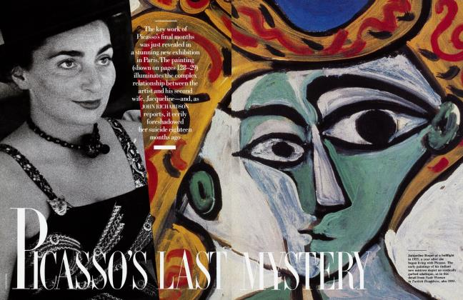 Article Preview: PICASSO'S LAST MYSTERY, May 1988 1988 | Vanity Fair