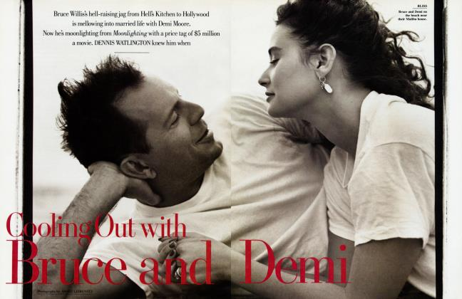 Article Preview: Cooling Out with Bruce and Demi, May 1988 1988 | Vanity Fair