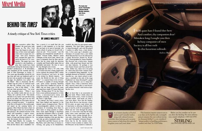 Article Preview: BEHIND THE TIMES, June 1988 | Vanity Fair