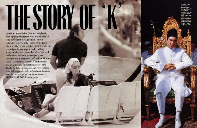 Article Preview: THE STORY OF 'K', June 1988 | Vanity Fair