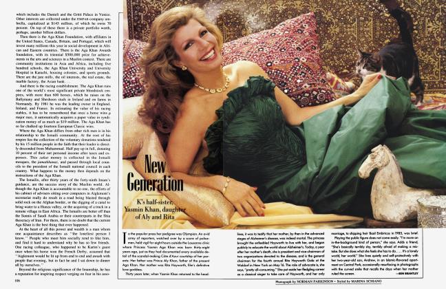 Article Preview: New Generation, June 1988 1988 | Vanity Fair