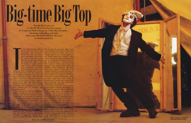 Article Preview: Big-time Big Top, June 1988 1988 | Vanity Fair