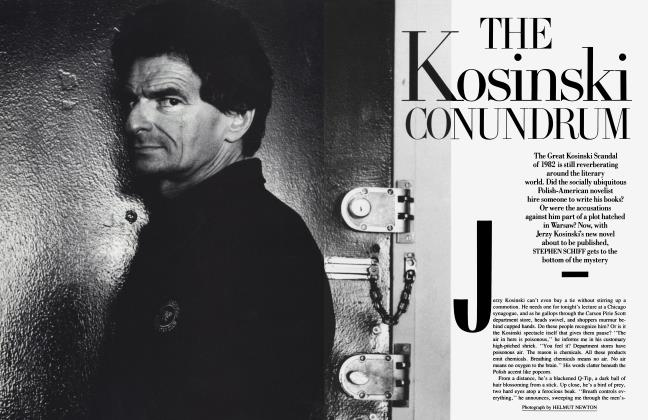 Article Preview: THE KOSINSKI CONUNDRUM, June 1988 1988 | Vanity Fair