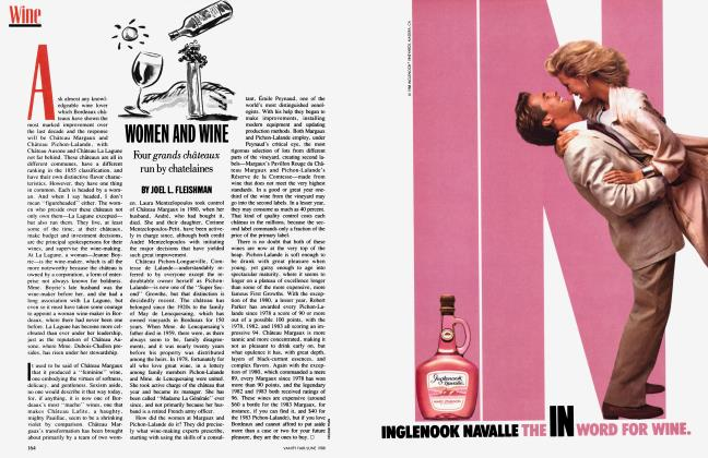 Article Preview: WOMEN AND WINE, June 1988 1988 | Vanity Fair