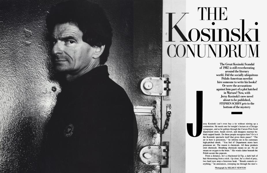 THE KOSINSKI CONUNDRUM