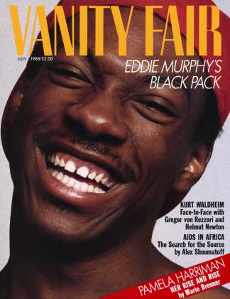 Cover for the July 1988 issue