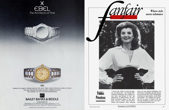 Article Preview: Pablo's Priestess, July 1988 1988 | Vanity Fair