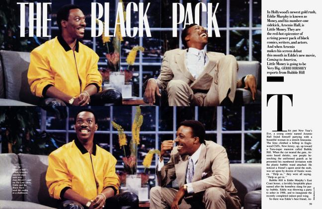 Article Preview: THE BLACK PACK, July 1988 1988 | Vanity Fair