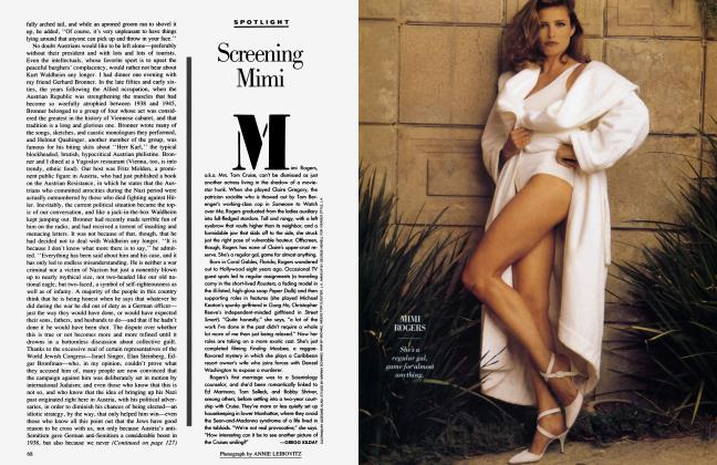 Article Preview: Screening Mimi, July 1988 1988 | Vanity Fair