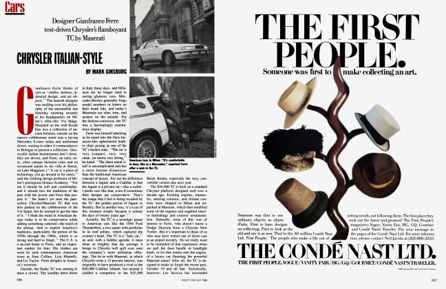 Article Preview: CHRYSLER ITALIAN-STYLE, July 1988 1988 | Vanity Fair