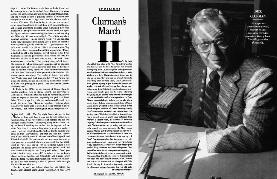 Clurman's March