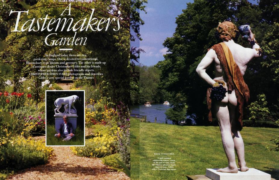 A Tastemaker's garden