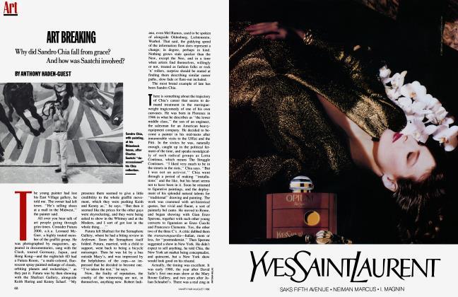 Article Preview: ART BREAKING, August 1988 1988 | Vanity Fair