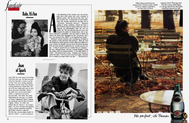 Article Preview: Baby, It's You, August 1988 1988 | Vanity Fair