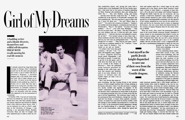 Article Preview: Girl of My Dreams, August 1988 1988 | Vanity Fair