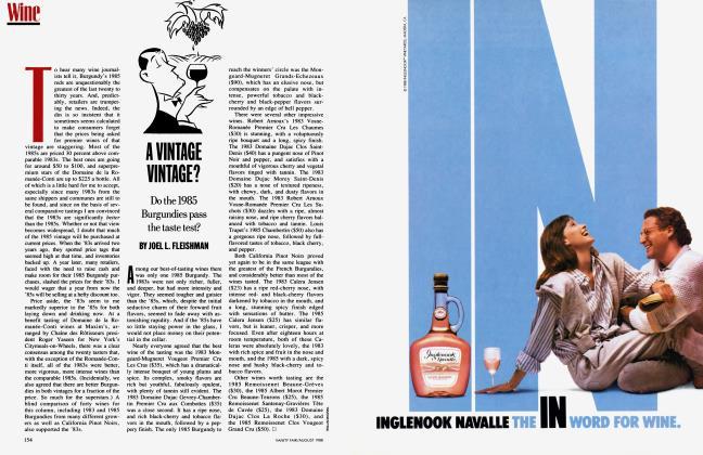 Article Preview: A VINTAGE VINTAGE?, August 1988 1988   Vanity Fair