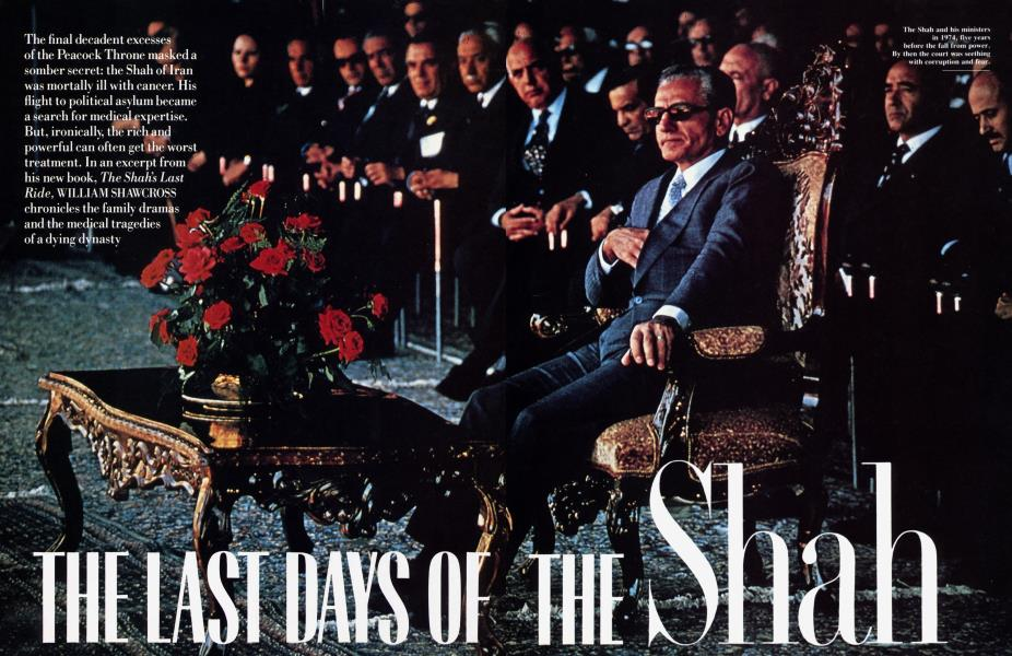 THE LAST DAYS OF THE Shah
