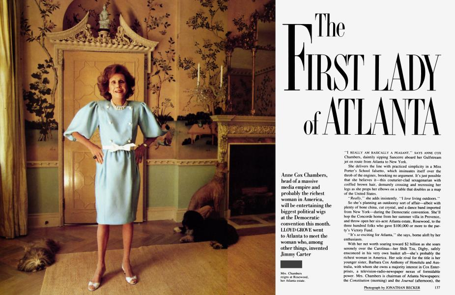 The First Lady of Atlanta