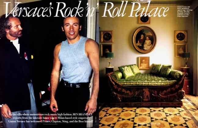 Article Preview: Versace's Rock 'n' Roll Place, September 1988 1988 | Vanity Fair