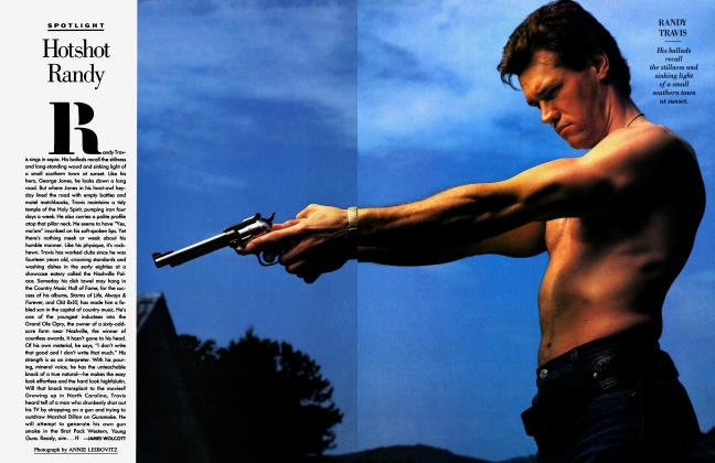 Article Preview: Hotshot Randy, September 1988 1988 | Vanity Fair