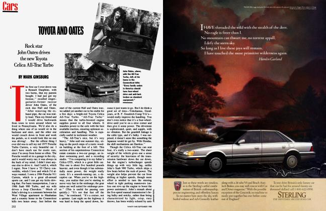 Article Preview: TOYOTA AND OATES, September 1988 1988 | Vanity Fair