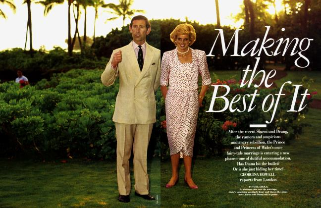 Article Preview: Making the Best of It, September 1988 1988 | Vanity Fair