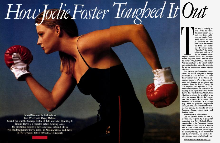 How Jodie Foster Toughed It Out