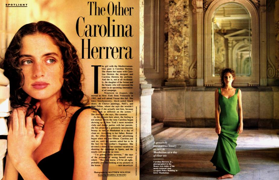 The Other Carolina Herrera