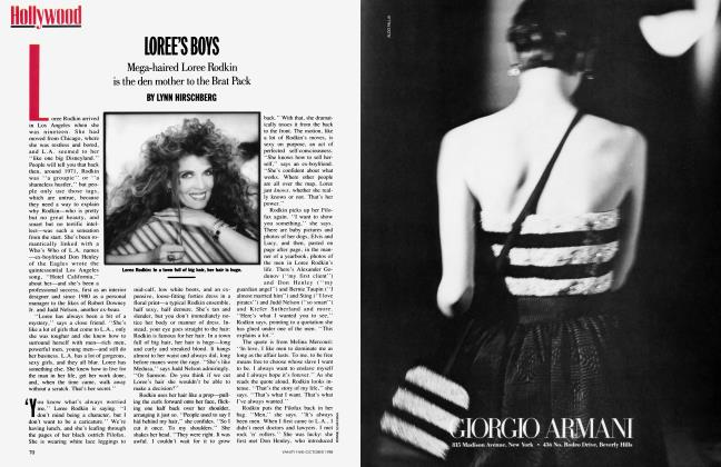 Article Preview: LOREE'S BOYS, October 1988 | Vanity Fair