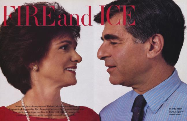 Article Preview: FIRE and ICE, October 1988 | Vanity Fair