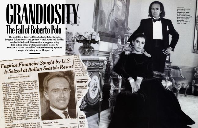 Article Preview: GRANDIOSITY: The Fall of Roberto Polo, October 1988 | Vanity Fair