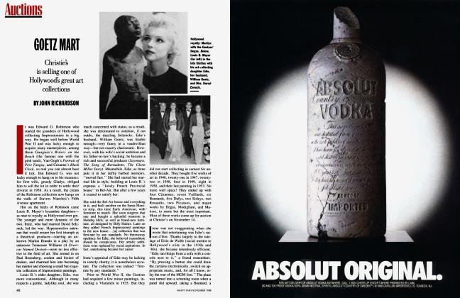 Article Preview: GOETZ MART, November 1988 1988 | Vanity Fair
